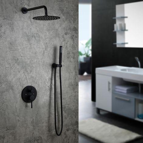 Pack de ducha incorporado con ducha de mano incluida