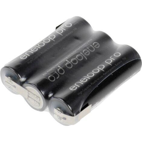 Pack de piles rechargeables 3x LR6 (AA) NiMH Panasonic 135551 3.6 V 2450 mAh A39084