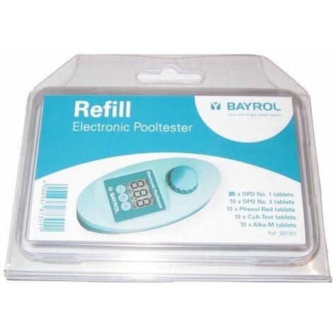 Pack de recharge pour photomètre Bayrol