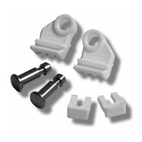 Pack de repuestos para mamparas de ducha Holiday Novellini R03HAS-30 | Blanco