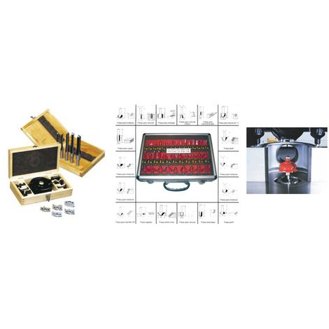 Pack de utillaje para máquinas combinadas Lombarte