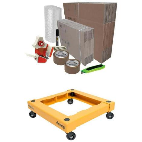 Pack déménagement Basique - chariot de transport DOZOP compact démontable