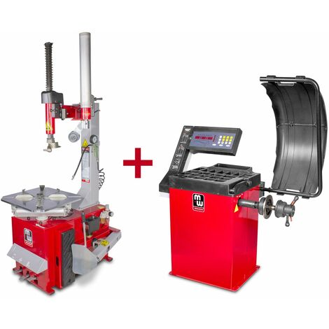 Pack démonte-pneu et équilibreuse de roues BT200M+BB200 MW-Tools BT200M SET2