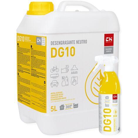 Pack DG10 desengrasante ECO 5l + 750ml