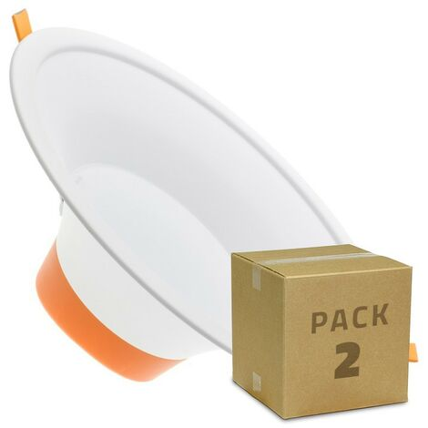 Pack Downlight LED Lux 20W (2 un)