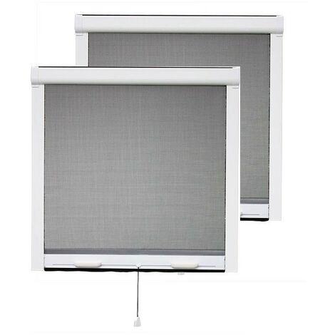 PACK ECO de 2 moustiquaires enroulables PVC - Plusieurs dimensions disponibles