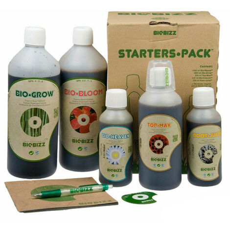 Pack Engrais Biobizz Starters Pack