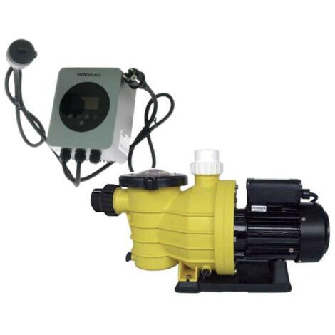 Pack filtration MAREVA pour la piscine - Pompe centrifuge - 1.2CV - Variateur de vitesse Eco 2 - 50 Hz - 2200 W