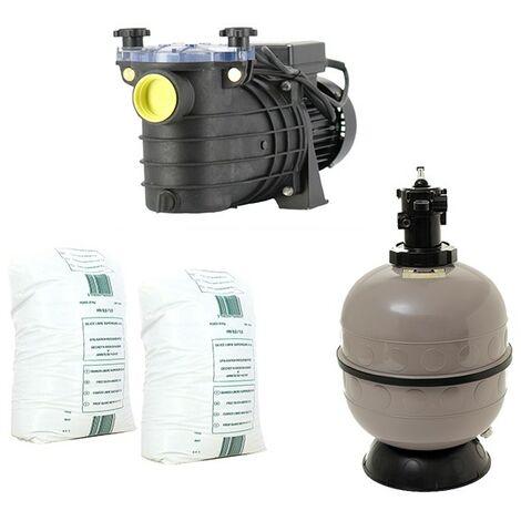 Pack filtration piscine - 6x3 m - Catégorie Kit construction piscine