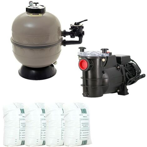 "main image of ""Pack filtration piscine - 7x3 m - Catégorie Kit construction piscine"""