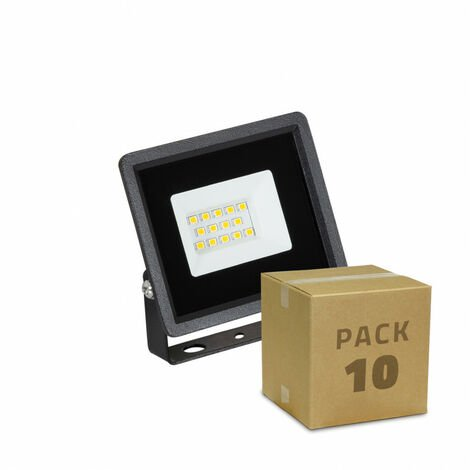 Pack Foco Proyector LED Solid 10W (10 un)