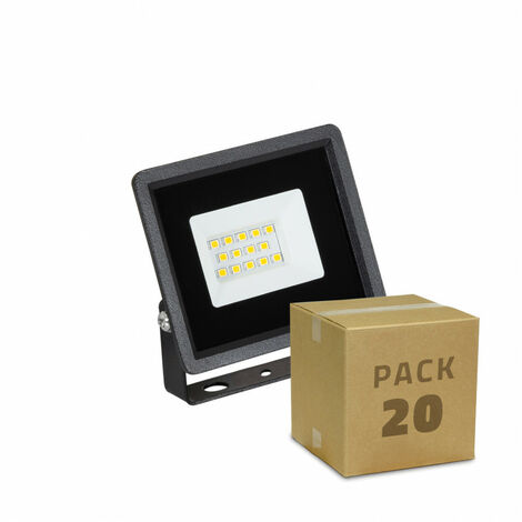 Pack Foco Proyector LED Solid 10W (20 un)