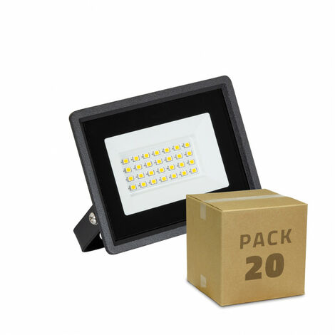 Pack Foco Proyector LED Solid 20W (20 un)