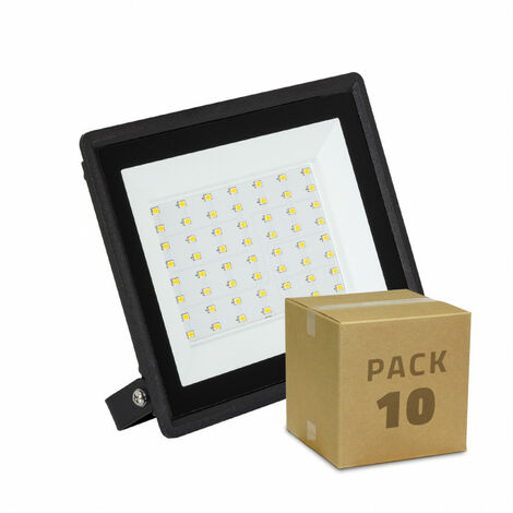 Pack Foco Proyector LED Solid 50W (10 un)