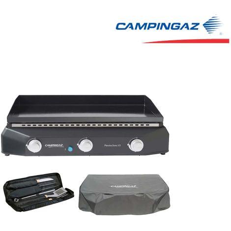 Pack - Gas Plancha - Cover - Utensils CAMPINGAZ Sorio 3D