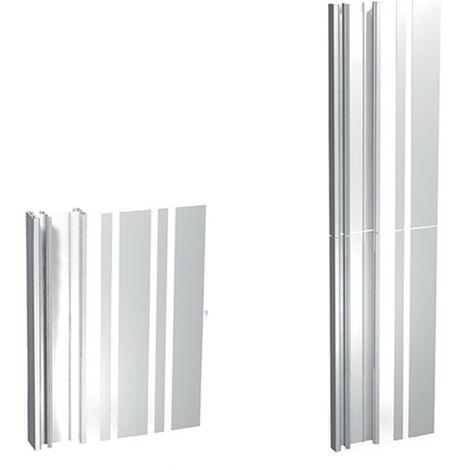 Pack goulotte GTL - 13 modules - Pliante - Blanc