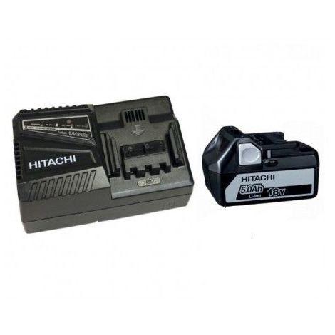 PACK HITACHI HIKOKI 18V BATTERIE BSL1850 5Ah Li-ion + CHARGEUR UC18YFSL