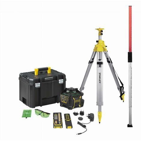 Pack investissement niveau rotatif RL750LG (Li-Ion) Vert STANLEY - FMHT77223-1