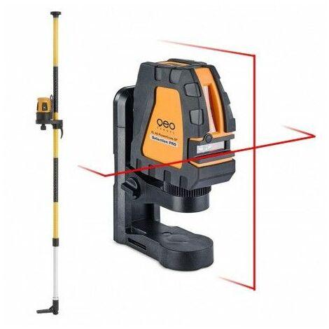 Pack laser croix FL 40-PowerCross Plus SP + canne support laser KS3 - 541510-S01 - Geo Fennel