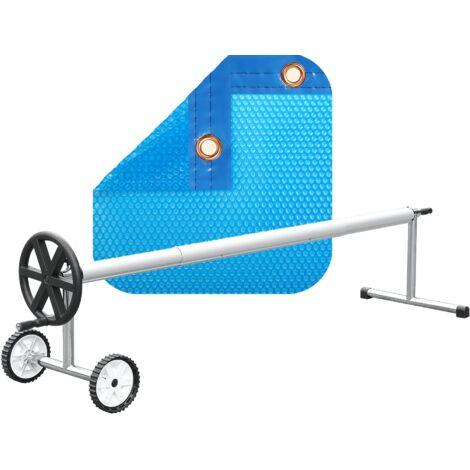 PACK MANTA TÉRMICA DE 350 MICRAS ECO + ENROLLADOR TELESCÓPICO DE 81mm.