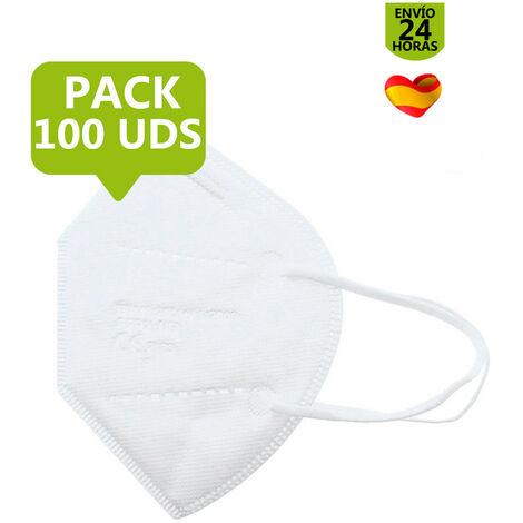 PACK MASCARILLA FFP2 100 UDS