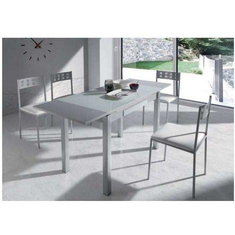 Pack mesa comedor extensible y 4 sillas