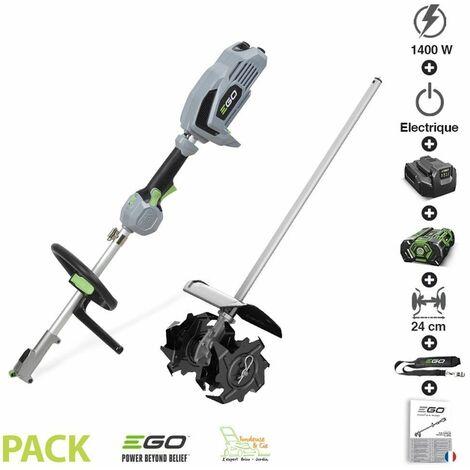 Pack microbineuse à batterie sans fil chargeur moteur électrique EGO CTA9500 - Noir
