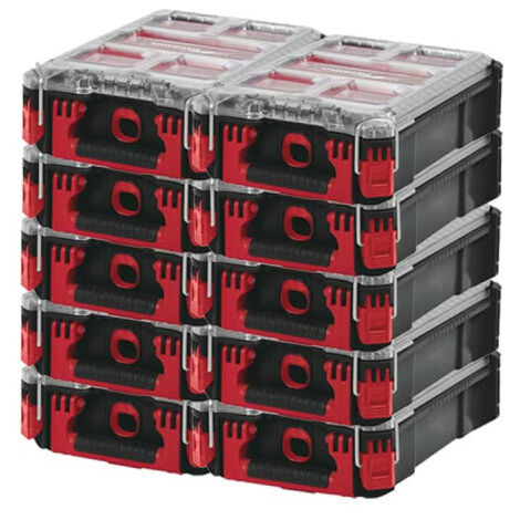 Pack MILWAUKEE PACKOUT 10 Organiseurs 5 casiers