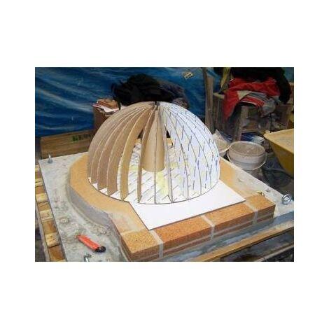 Pack mini metálico para construcción de horno de leña 70 cm