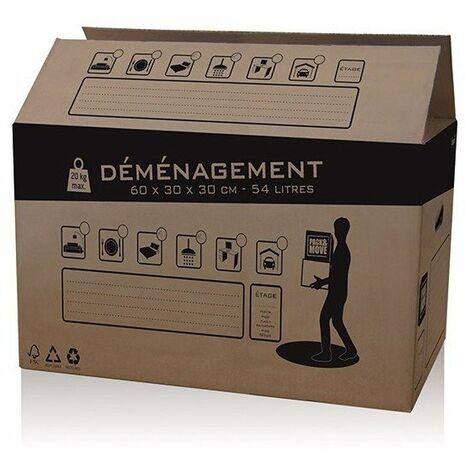 Carton demenagement 54l ref.32581
