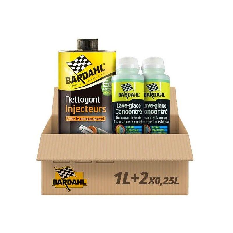 Pack Nettoyant Injecteurs Diesel + 2 Lave glace pomme - Bardahl