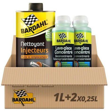 Pack Nettoyant Injecteurs Diesel + 2 Lave glace pomme Bardahl