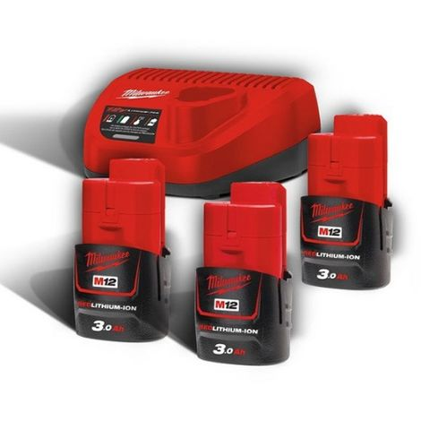Pack NRJ 12V 3.0Ah Red Li-Ion M12NRG303 - 4933459207