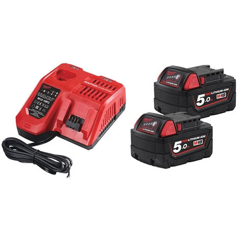 Pack NRJ 18V 5.0Ah Red Li-Ion M18NRG502 - 4933459217