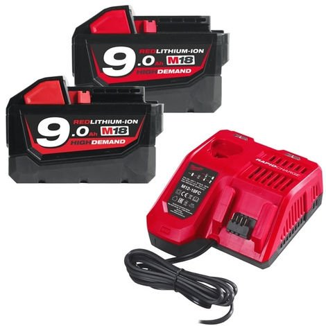 Pack NRJ 18V 9.0Ah Red Li-Ion M18NRG902 - 4933451422