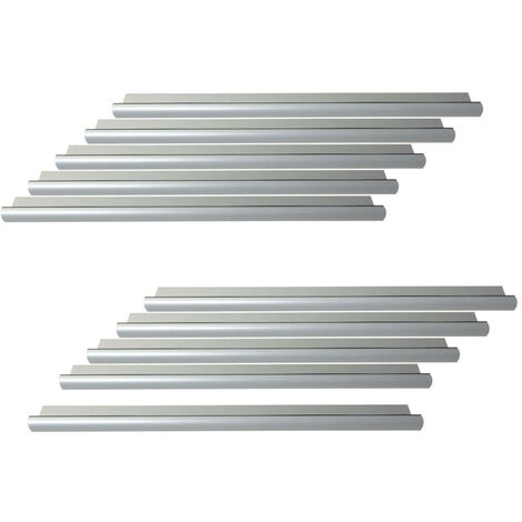 Pack of 10 door thresholds 1 meter with Klose Besser seal