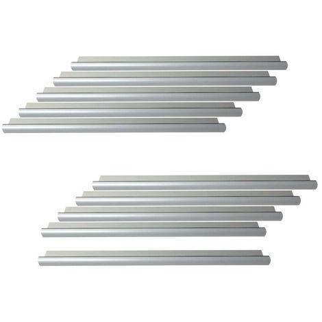 Pack of 10 standard door thresholds 93 cm with Klose Besser seal