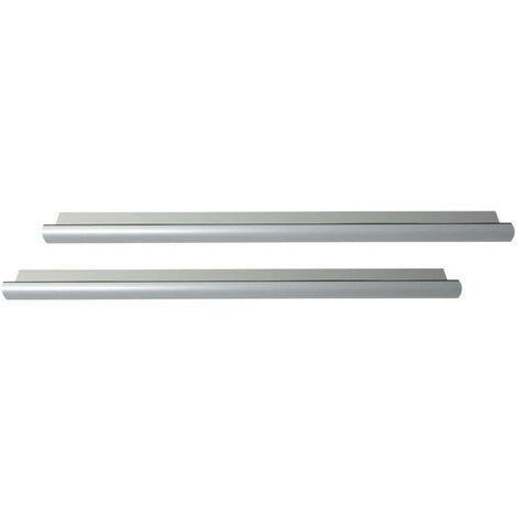 Pack of 2 standard door thresholds 93 cm with Klose Besser seal