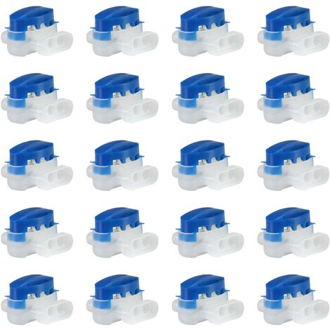Pack of 20 Resin-Filled Cable Connectors for Automower Robot Lawn Mower