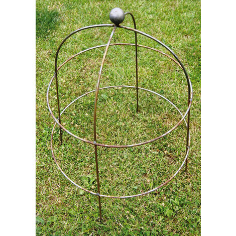 Pack of 3 Small Bell Cloche 67 (The Plant Cage Support)