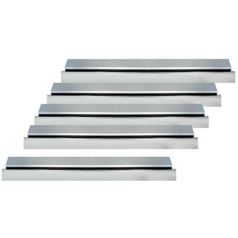 Pack of 5 entrance door thresholds 93 cm with Klose Besser seal