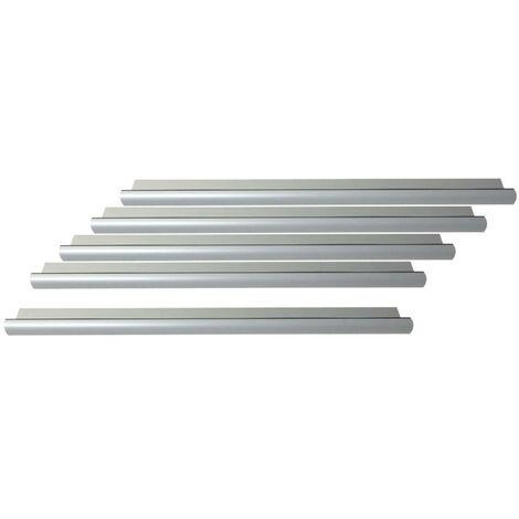 Pack of 5 standard door thresholds 93 cm with Klose Besser seal