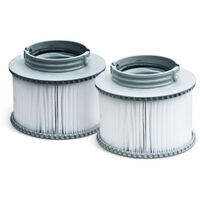 Pack of two hot tub filters - Alpine 4 & 6 and Super Camaro - 2 replacement filter cartridges for MSPA inflatable jacuzzi