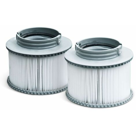 """main image of """"Pack of two hot tub filters - Alpine 4 & 6 and Super Camaro - 2 replacement filter cartridges for MSPA inflatable spa"""""""