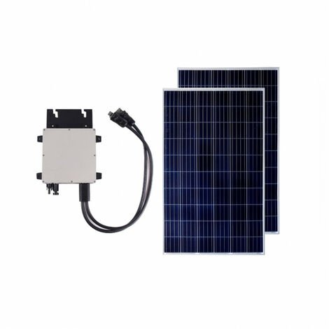 Pack Panel Solar Fotovoltaico Policristalino 320W BYD Clase A + Microinversor 300W Exclusive
