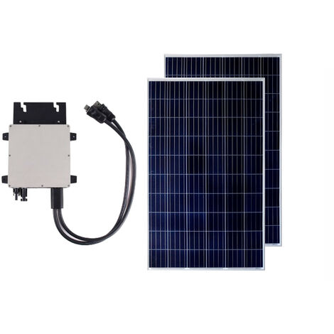 Pack Panneau Solaire Photovoltaïque Polycristallin 320W BYD Class A + Micro-Onduleur 300W Exclusive