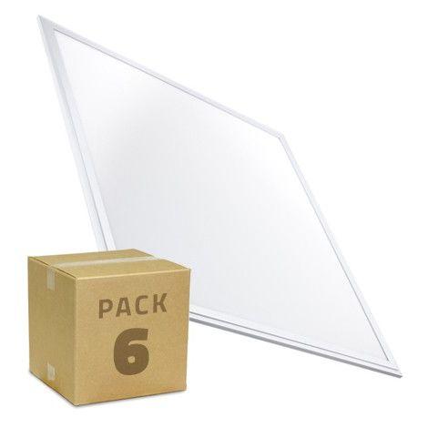 PACK Panneaux LED Slim 60x60 40W 3200lm (6x19.19€)