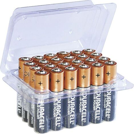 Pack Pile LR3 (AAA) alcaline(s) Duracell Plus Power LR03 Box 1.5 V 24 pc(s)