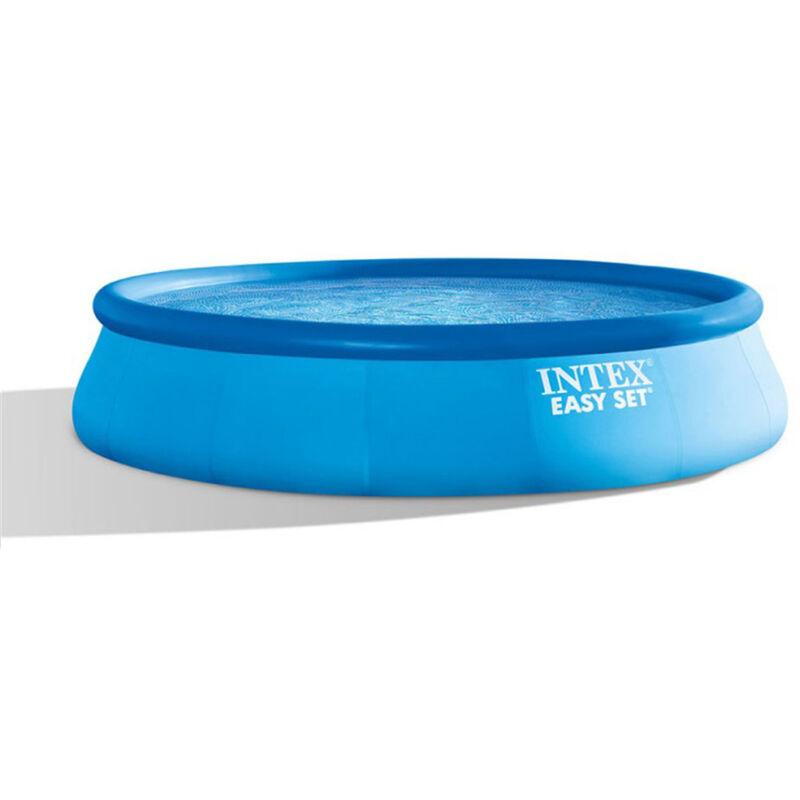 Piscine autoportée Easy Set 4,57 x 0,84 m - Intex - Bleu