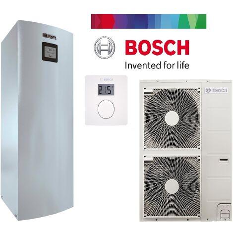 """main image of """"pack pompe à chaleur BOSCH split air /eau 12 kw COMPRESS 3000 AWS chauffage + ballon 190 litres complète"""""""